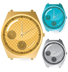 watches set vector image vector image