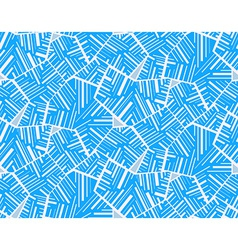Geometric abstract seamless pattern motif vector image