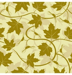 Maple leaf seamless background vector