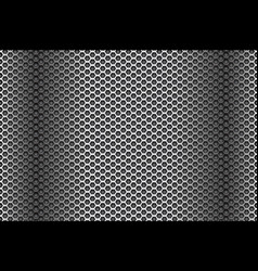 Dark metal perforated background abstract vector