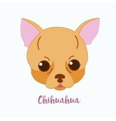 dog Chihuahua vector image vector image