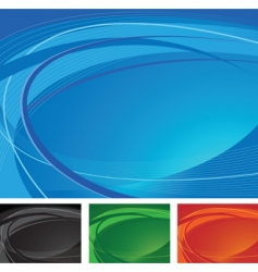 swirling background vector image vector image