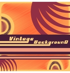 Vintage backgound template vector