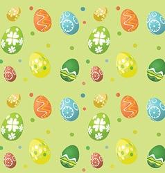 Seamless tile easter egg background 2902 vector