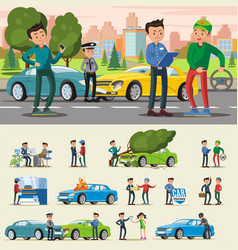 Car insurance composition vector