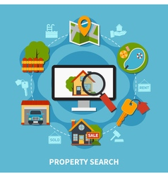 Real Estate Concept vector image