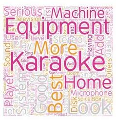 The best karaoke equipment to enhance your karaoke vector