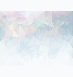 triangle pink blue pattern vector image