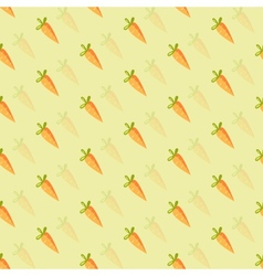 Background of orange carrots vector