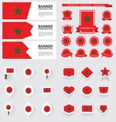 Set morocco vector