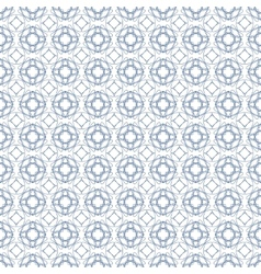 seamless blue guilloche background vector image