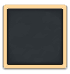 Blackboard square icon vector