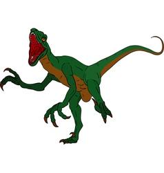 Deinonychus vector