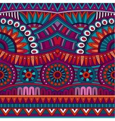 Abstract tribal ethnic background seamless vector