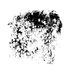 Black spots and splashes vector
