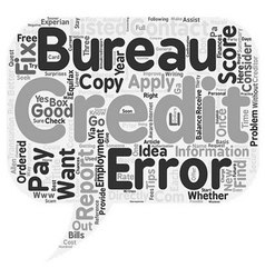 How Often Should I Check My Credit Report text vector image