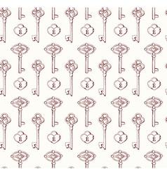 keyspattern vector image vector image