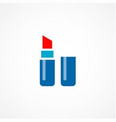 lipstick icon vector image