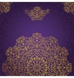 Mandala patternswirlsrevivalethnic background vector