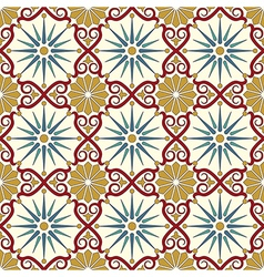 Arabic seamless pattern vector