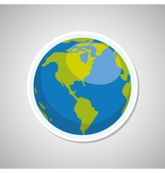 Planet icon design vector