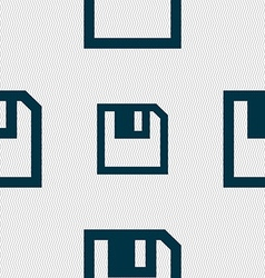 Floppy icon flat modern design seamless abstract vector