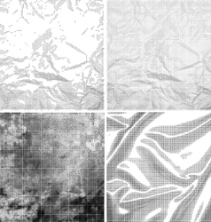 Halftone Grunge Backgrounds vector image vector image