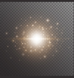 Bokeh background with star light vector