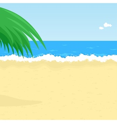 Seaside beach vector