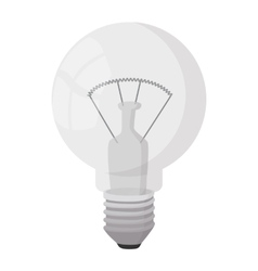 Bulb icon cartoon style vector image vector image