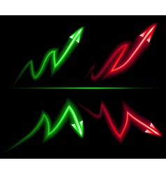 Direction of inflation and deflation vector