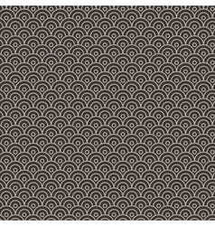 seamless pattern in the form of flakes vector image