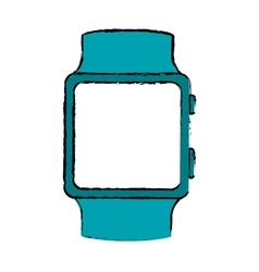 Smartwatch digital accesory icon image vector