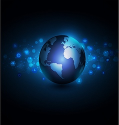 World with network communication and global vector