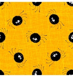 Halloween seamless pattern background vector