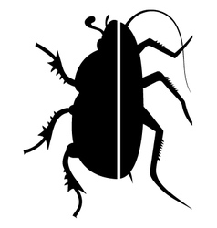 Insect symbol vector
