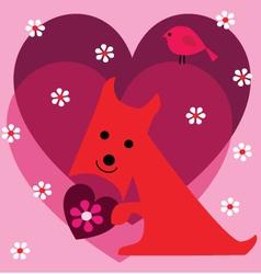 scottie valentine vector image