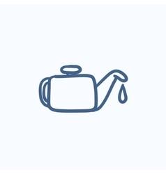 Oiler sketch icon vector image