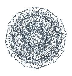 Circular mandala vector
