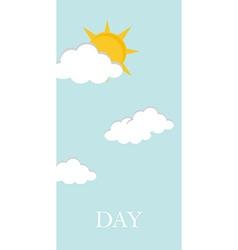 Day concept vector