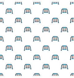 swing pattern seamless vector image vector image