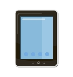 Tablet icon cartoon style vector