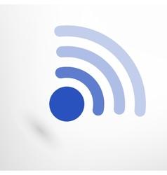 Creative Wireless Icon vector image vector image
