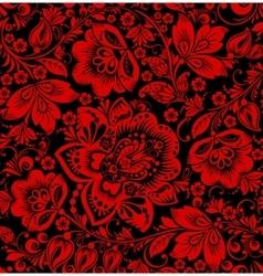 Hohloma seamless pattern vector image