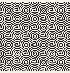 Seamless geometric pattern composed with vector
