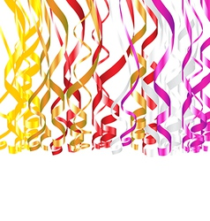 Serpentine Ribbons vector image vector image