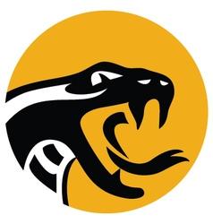 Snake emblem 2 vector