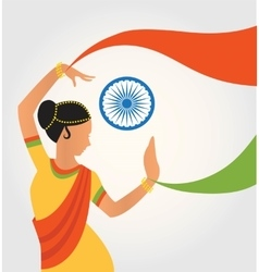 Colourful culture india with vector