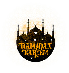 For an islamic holy holiday of vector
