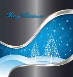 Elegant christmas decorative background vector